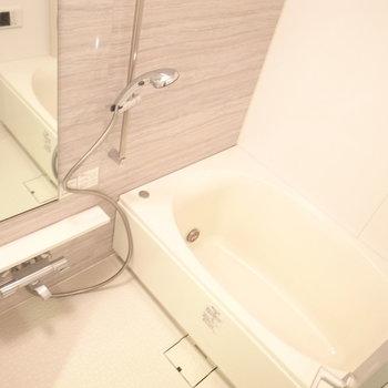 充実のお風呂※写真は別部屋です