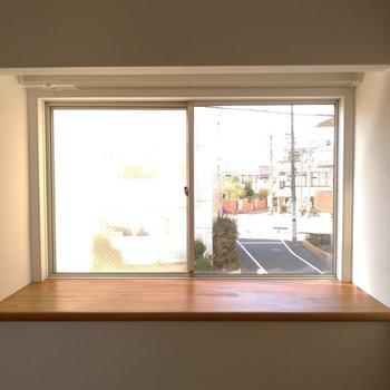 出窓には何を置こう。なんでもおけそうな大きさ!※写真は前回募集時のものです