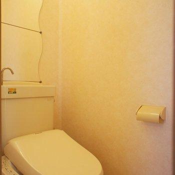 トイレは個室、かがみつき!※写真は前回募集時のものです