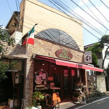 近くにあったピザのお店。vera pizza napoletana