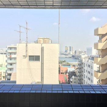 エレベーター前からの眺めも素敵ですね