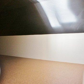 ドア付きのロフトでした※写真は2階の同間取り別部屋