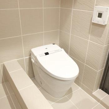 最新トイレ!