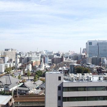 その先にあるのは東京湾