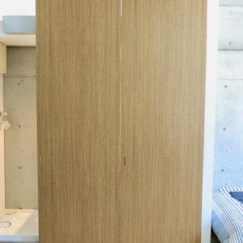 これを...※写真は3階の同間取り別部屋、モデルルームのものです