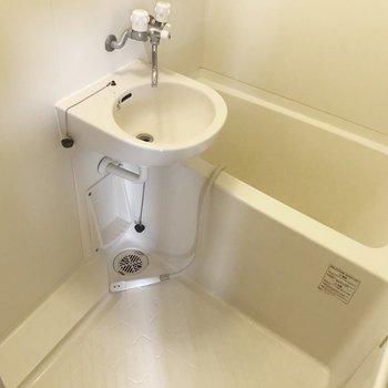 2点ユニットはお掃除が簡単。換気はしっかりしましょう(※写真は清掃前のものです)