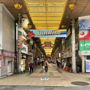 商店街もありました。
