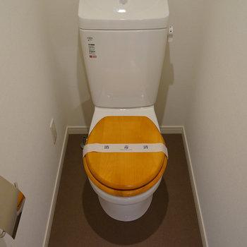 トイレも新しく※写真は同間取り別部屋
