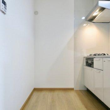 調理スペースも広い