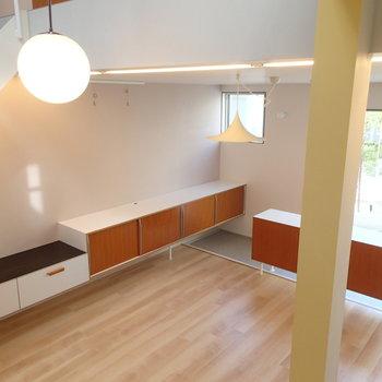 備え付けの家具も素晴らしい