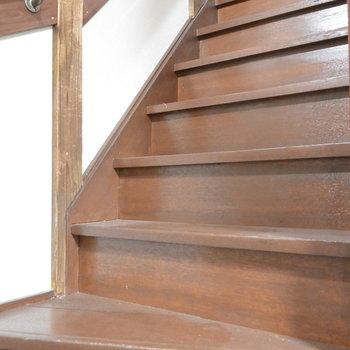 階段上ってみましょう