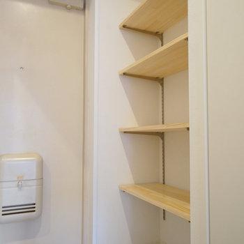玄関には可動棚を◎※写真は前回募集時のものです