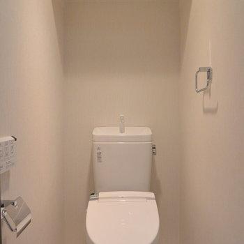トイレはコンパクトに