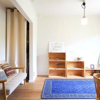 シンプルな家具がよく似合います!※間取り反転です!!