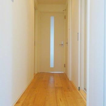 スッキリとした玄関