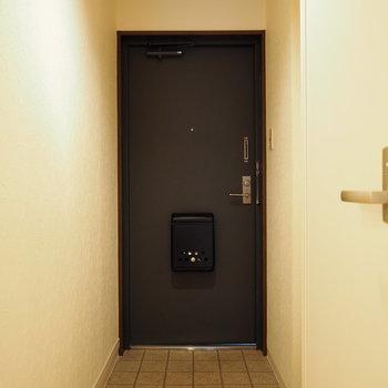 ゆったり玄関。