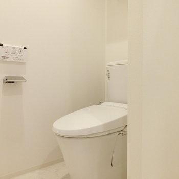 このトイレの佇まい。