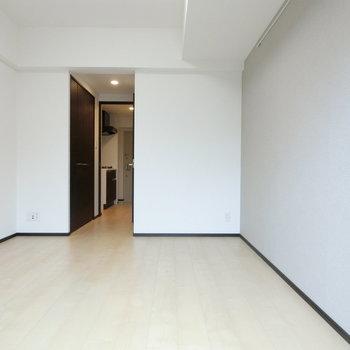 シンプルな空間。