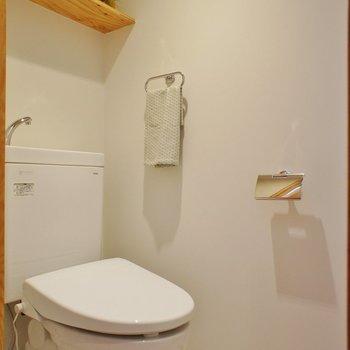トイレも個室!※前回募集時の写真