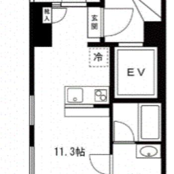 なんと、3階はあなたのお部屋だけ!独占です。