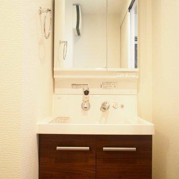 洗面台もきれい!