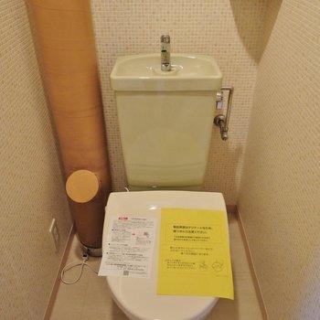 トイレはまだまだ綺麗!※写真は前回募集時のもの。