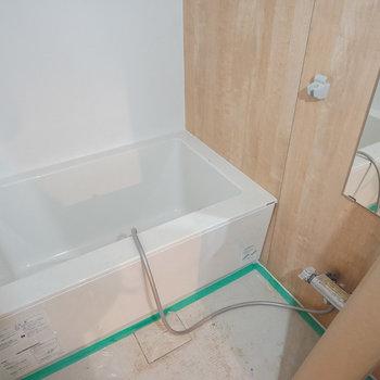 【工事中】お風呂も新品