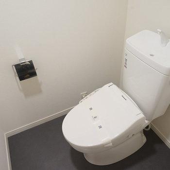 トイレももちろん新品♪