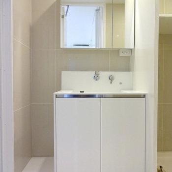 洗面台※写真は別部屋です