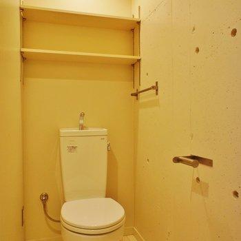 トイレは脱衣所に