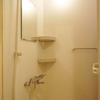 シャワールームですがお掃除らくらく