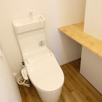 居心地良さそうなトイレ