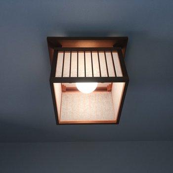 こちらは玄関の天井