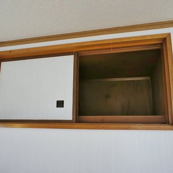 洋室収納part2。小物はこちらに。