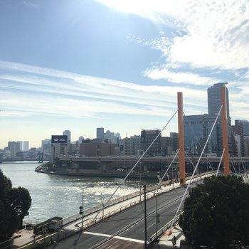 隅田川と青空と。