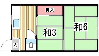 庄田町文化 の間取り