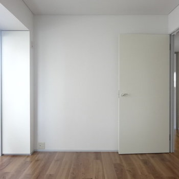 うん、シンプル。※写真は3階の同間取り別部屋のものです。