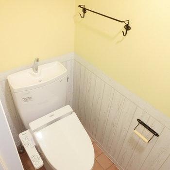 トイレは明るくかわいく。※写真は前回募集時のものです
