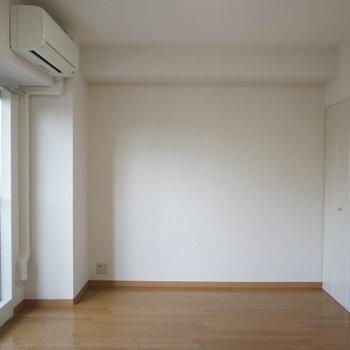 シンプルな間取りで家具の設置もラクラク。