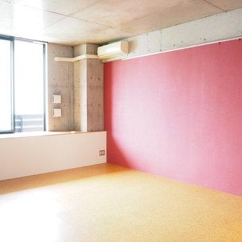 光が良く入ります※写真は7階同間取り・別部屋のものです
