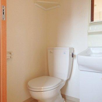 トイレはウォシュレットではありません。