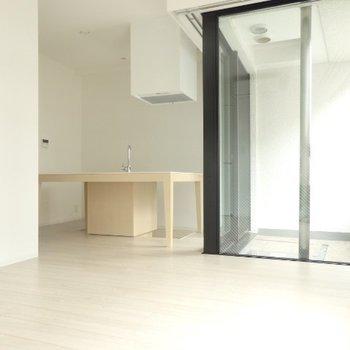 キッチンがやっぱり可愛い…!※画像は別室です