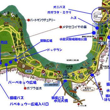 近くに水元公園という大きな公園が◎
