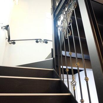 階段もメルヘン