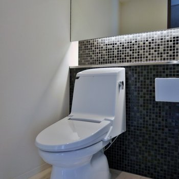 トイレは同室のアメセパタイプ