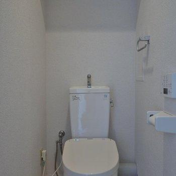 トイレも綺麗でしょ♪