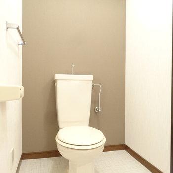 トイレは水回りにオープンスタイルで。