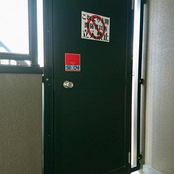 8階までには扉が