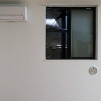 眺望は期待できません、、、※写真は前回別部屋です
