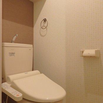 トイレは落ち着く空間。※写真は前回掲載時のものです。